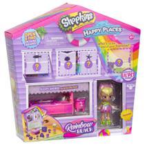 Mini Boneca Surpresa com Acessórios - Shopkins - Happy Places - Casinha Surpresa - DTC -
