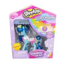 Mini Boneca Surpresa com Acessórios - Shopkins - Happy Places - Raibown Beach - Unicorn Pack - DTC -