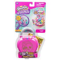 Mini Boneca Surpresa com Acessórios - Shopkins - Lil Secrets - Cadeado - DOCERIA - Dtc
