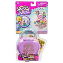 Mini Boneca Surpresa com Acessórios - Shopkins - Lil Secrets - Cadeado - FLORICULTURA - Dtc
