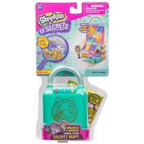 Mini Boneca Surpresa com Acessórios - Shopkins - Lil Secrets - Cadeado - PETSHOP - Dtc