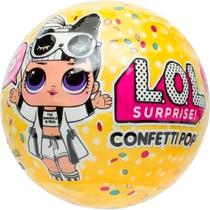 Mini Boneca Surpresa Confetti Pop - Mega Toys