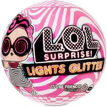 Mini Boneca Surpresa - L.O.L. Surprise! - Lights Glitter - Candide -