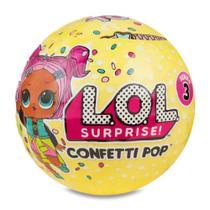 Mini Boneca Surpresa - LOL - Confetti Pop - Série 3 - 9 Surpresas - Candide -