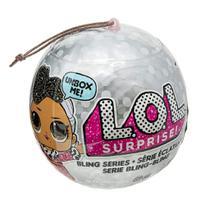Mini Boneca Surpresa - Lol - Lil Outrageous Littles - Bling Series - 7 Surpresas 8919 - Candide -