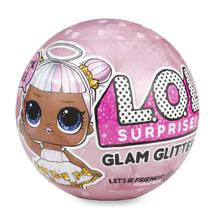 Mini Boneca Surpresa - LOL - Lil Outrageous Littles - Glam Glitter Series - 7 Surpresas - Candide