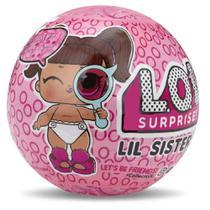 Mini Boneca Surpresa - LOL - Lil Sisters Série 4 - Candide -
