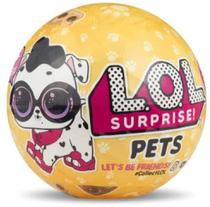 Mini Boneca Surpresa - LOL - Pets - PETS CACHORRINHO - Candide