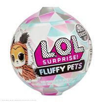 Mini Boneca Surpresa - LOL Surprise! - Fluffy Pets - 9 Surpresas - Candide -