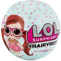 Mini Boneca Surpresa - LOL Surprise - Hair Vibes - 15 Surpresas - Candide -