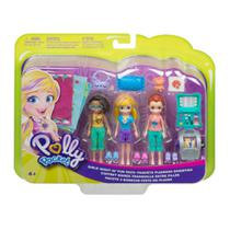 Mini Bonecas e Acessórios - Polly Pocket - Club House da Polly - Festa do Pijama - Mattel -