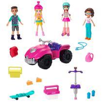 Mini Bonecas e Acessórios - Polly Pocket - Pacote de Atividades Esportivas - Mattel -