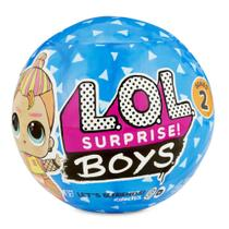 Mini Boneco Surpresa - LOL Surprise! - Boys - 7 Surpresas - Série 2 - Candide -