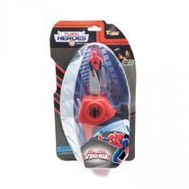 Mini Boneco Voador Flying Heroes Homem Aranha Vermelho - DTC -