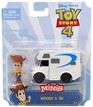 Mini Boneco Woody e RV Toy Story 4 - Mattel GCY61 -