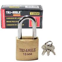 Mini Cadeado Antifurto 15mm para mochila bolsa mala gaveta vitrine - Trian-Gle