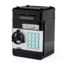 Mini caixa cofre eletronico digital com insercao automatica de notas com segredo de 4 digitos - Kangur