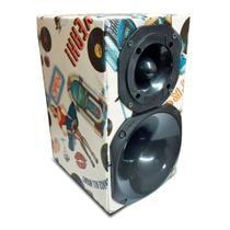 Mini Caixa Corneteira Driver + Tweeter 240w Rms - Extreme Box