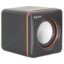 Mini Caixa De Som 2.0 Usb Cs-39 Exbom Pc Notebook -