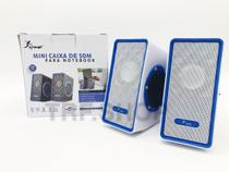 Mini Caixa De Som 5W Rms Usb Pc Notebook Knup Kp-7028