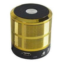 Mini Caixa de Som Bluetooth Portátil Usb Mp3 P2 Sd Rádio Fm - Altomex