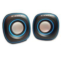 Mini Caixa de Som para PC/Notebook XC-CM-12 - X-Cell 5W -