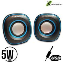 Mini Caixa de Som para PC/Notebook XC-CM-12 - X-Cell - Xcell -