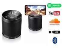 Mini Caixa de Som Portátil Q3 MP3 FM SD USB Cores Sortidas - lx