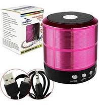 Mini Caixinha Som Bluetooth Portátil Usb Mp3 P2 Sd Rádio Fm - Não Informada
