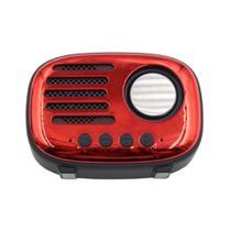 Mini Caixinha Som Portátil Wireless Speaker Rádio FM Retrô - Fmsp