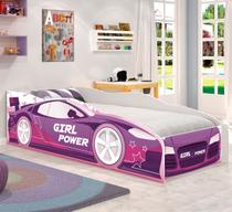 Mini Cama Carro Girl Power - Casah