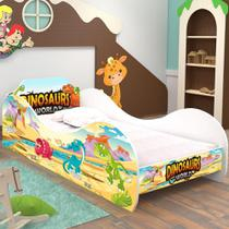 Mini Cama Dinossauro World Infantil - RPM Móveis -