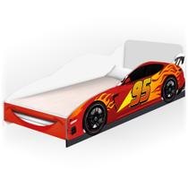 Mini Cama Infantil Carro Cars - Basoto