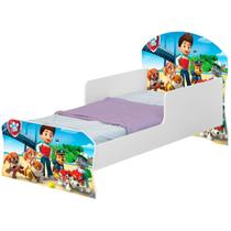 Mini Cama Infantil  Patrulha Animal - Basoto