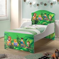 Mini Cama Infantil Pop Livro na Floresta - Casah