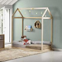 Mini Cama Montessoriana Casinha II Natural - Casatema -
