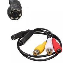 Mini Camera Espia Hd Com Microfone - Compatível com Todos os Dvrs de Tecnologia Ahd - Kamp