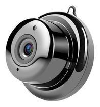 Mini Câmera Segurança Espiã Wifi HD Noturna 1080p Filmadora P2p Monitoramento Discreta sem LED - Ip