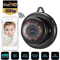 Mini Câmera Wifi Hd Infravermelho Visao Noturna V380 720p - lx