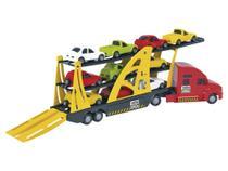 Mini Caminhão Infantil Cegonheira Frota Forte - Home Play - Homeplay