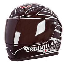 Mini Capacete Decorativo Do Corinthians CAP-246 Pro Tork -
