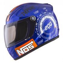 Mini Capacete Decorativo Nos Top Speed CAP-454 Pro Tork -