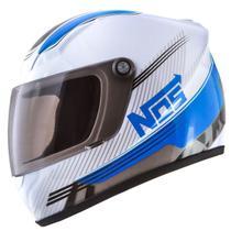 Mini Capacete Decorativo Pro Tork Nos Speed Line Azul -
