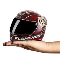 Mini capacete pro tork decorativo flamengo oficial -