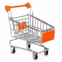 Mini Carrinho de Supermercado  Criativo Crianças - X-Krika