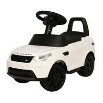 Mini Carro Eletrico 6v Infantil Land Rover Discovery Branca BW080BR Importway -