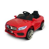 Mini Carro Eletrico 6v Infantil Vermelho 3km/h com Controle BW-007-VM Importway -
