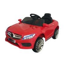 Mini Carro Elétrico BW007 Com Controle Remoto - Vermelho (Modelo Mercedes Benz) - Importway