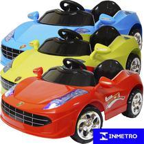 Mini Carro Elétrico Infantil Criança Bateria 6V Importway Ferrari BW005 Bivolt -