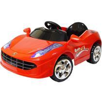 Mini Carro Elétrico Infantil Criança Bateria 6V Importway Ferrari Vermelha BW005-VM Bivolt -